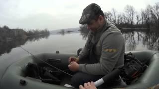 видео Открытие сезона ловли по открытой воде 2015(близ Таганрога)