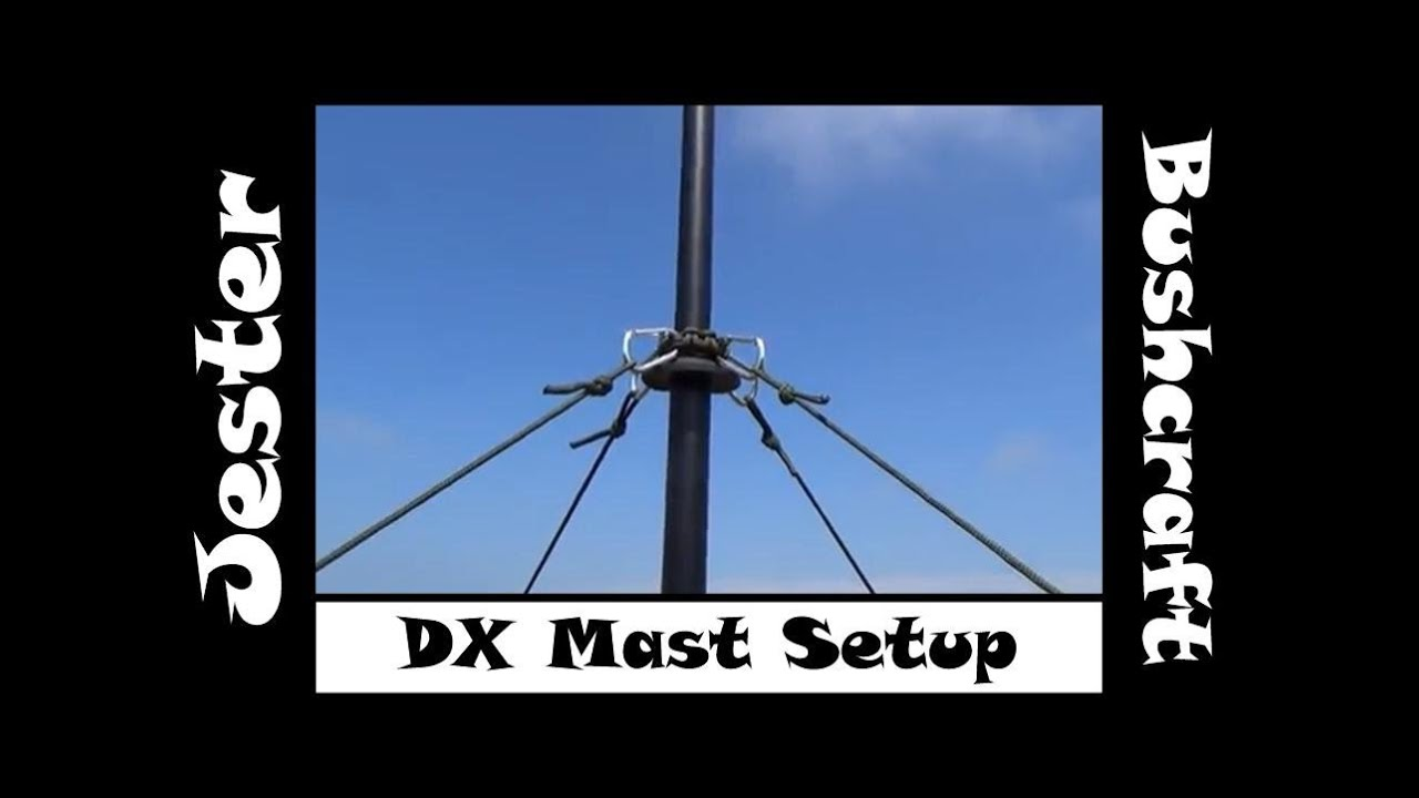 My CB Radio DXing Antenna Mast Setup