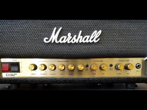 Marshall DSL 20HR Plexi Tones and a JMP-1
