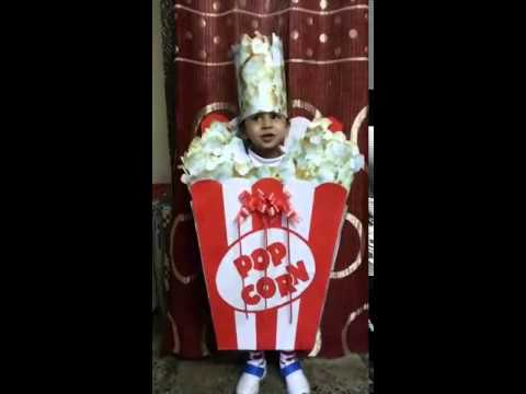 Pop Corn First Prize Winner In Fancy Dress Competition