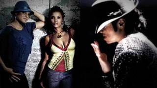 Michael Jackson & Marsha Ambrosius Sing Butterflies Together - by GIKU