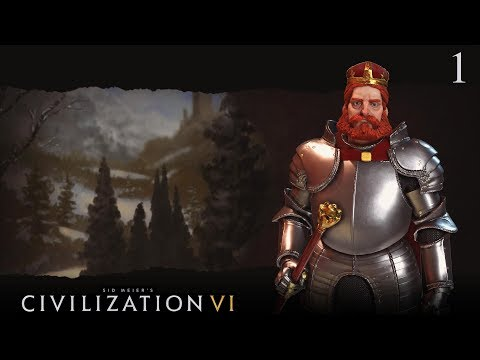 Let's Play Civilization VI as Germany #1 (Deity)