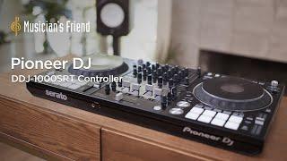 Pioneer DJ DDJ-1000SRT Controller - Features, Specs and Demonstration with Jansport J