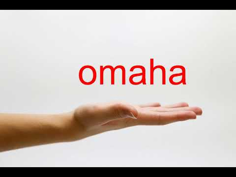 How to Pronounce omaha - American English