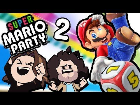 Super Mario Party: Yoshi's Small Brain - PART 2 - Game Grumps VS