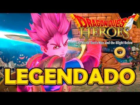 Dragon Quest Heroes - Virei Super Sayajin!?!? Em Português PT-BR, Legendado!