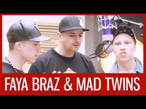 FAYA BRAZ & MAD TWINS | GBBB Studio Session 2015
