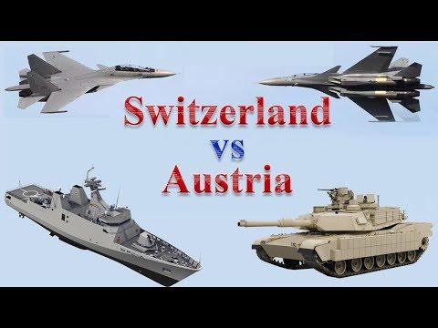 Switzerland vs Austria Military Comparison 2017