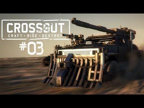 CROSSOUT #03 • Last Coya stand..ehh..driving! • Crossout Gameplay German • Deutsch