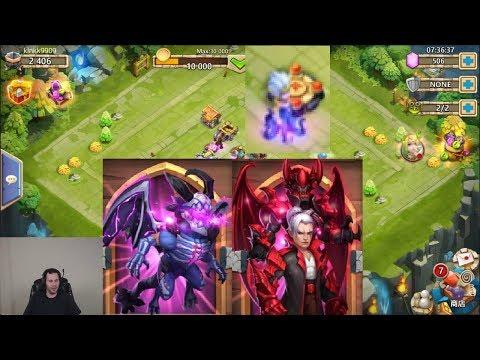 New Update New SKINS New Hero Castle Clash
