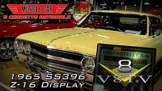 1965 Chevelle Malibu SS396 Z-16 At Muscle Car and Corvette Nationals Video V8TV