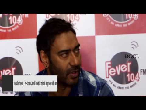 Ajay Devgn to launch trailer of...