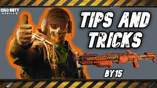 How to Train with BY15 and use it Properly - Call of Duty Mobile - Battle Royale - Tips \u0026 Tricks