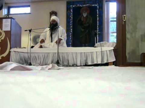 Sant Baba Baljit Singh Ji Dadu Sahib 3.8.11 GNG Huddersfield Part 2