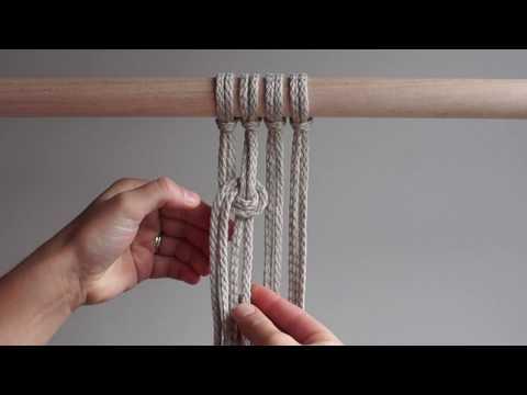 DIY Macrame Tutorial - Loop Patterns