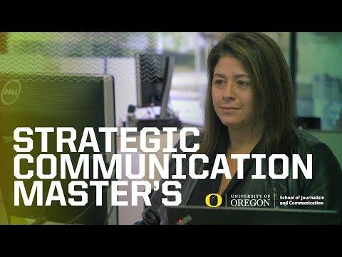 Master's In Strategic Communication