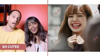 When Lisa makes BLACKPINK don't stop laughing REACTION (BLACKPINK REACTION)