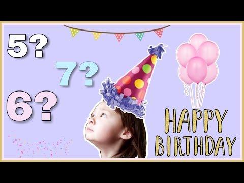 Сколько лет исполнилось Ангелине? Возраст по-корейски ;)
