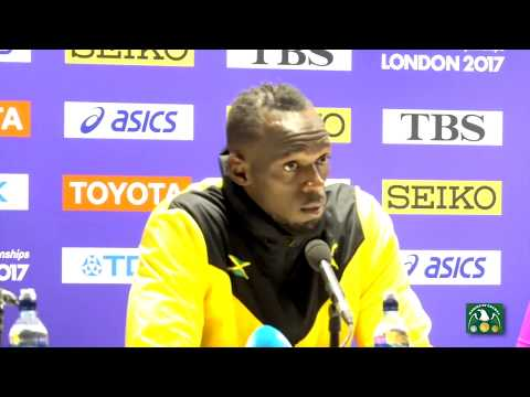 USAIN BOLT'S FINAL PRESS CONFERENCE ON RETIRING FROM TRACK