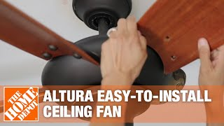 Home Decorators Collection Altura Ceiling Fan | The Home Depot