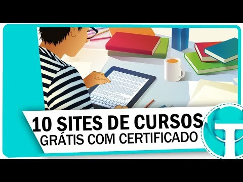 10 Sites de cursos GRATUITOS com certificado