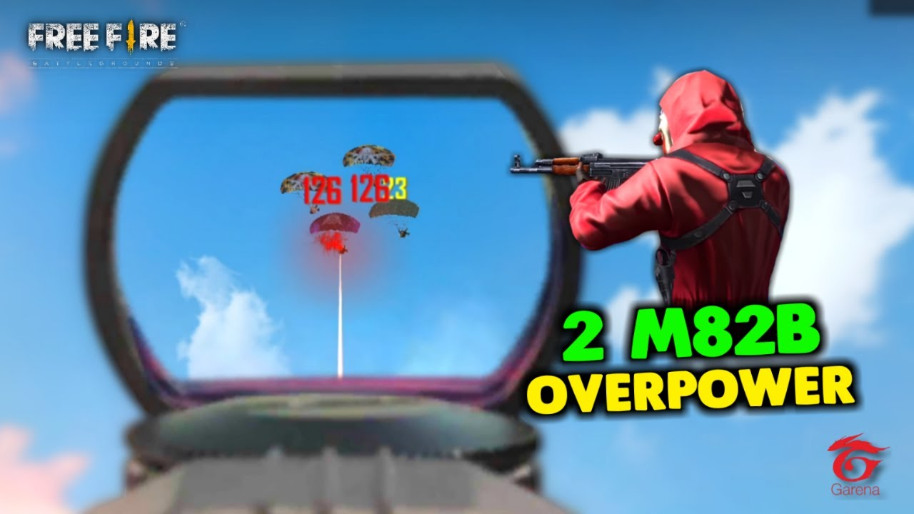 Unbelievable 2 M82B OverPower Ajjubhai and Amitbhai Gameplay - Garena Free Fire