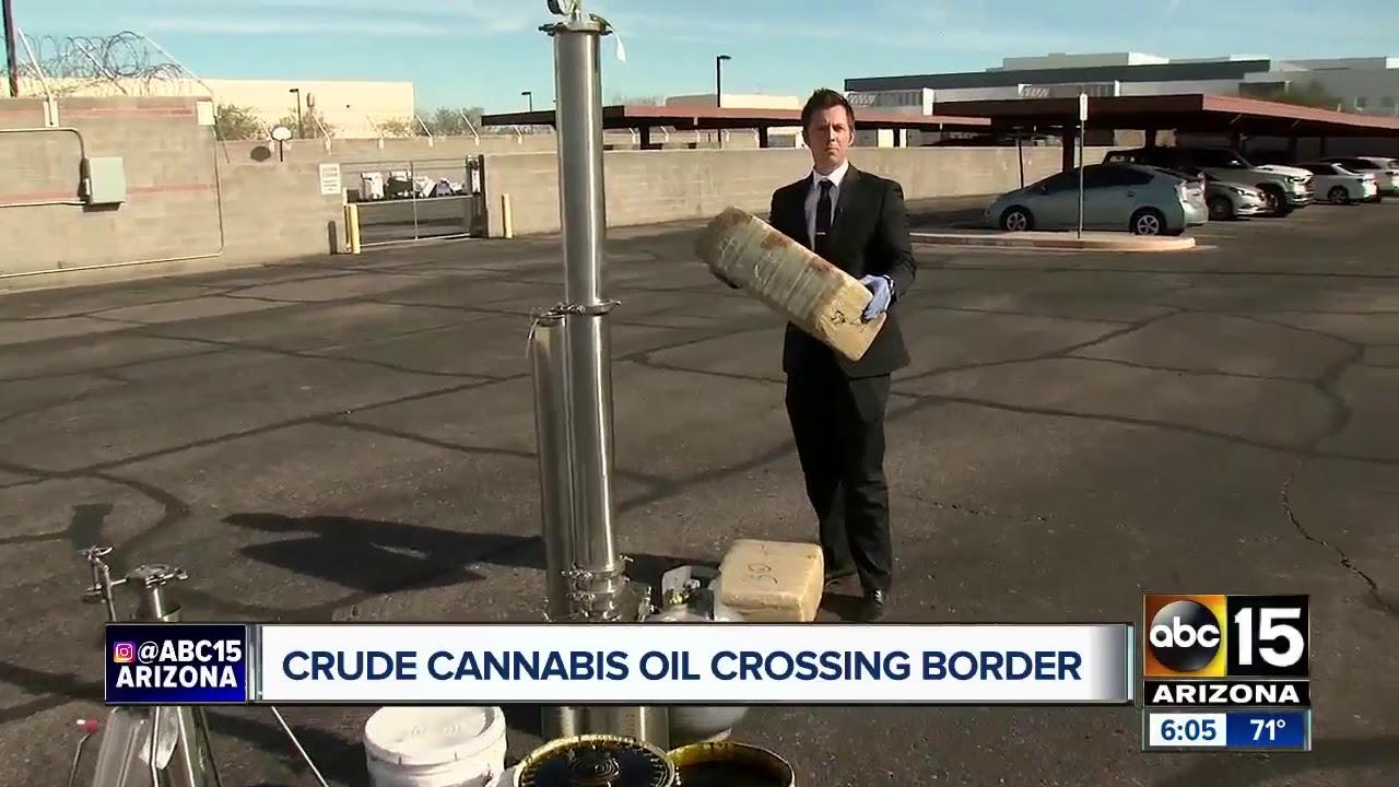 Drug cartels caught carrying new form of marijuana across border
