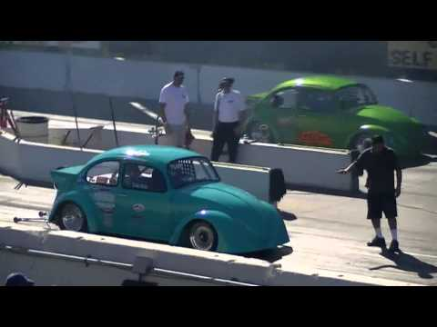 IRWINDALE drags HOT VWs drag day 10/28/12