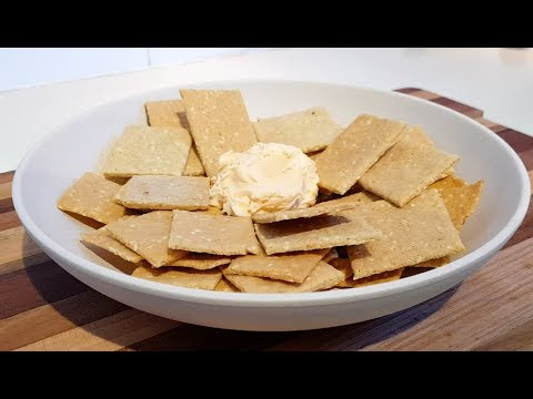 Sesame Seed Crackers (Paleo, Low-Carb, Gluten-Free)