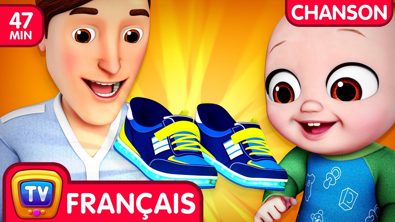 Chanson Chaussures Bébés (Baby Shoes Song) - ChuChu TV Chansons Collection