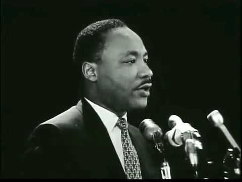 Dr  Martin Luther King Jr  at Stanford   'The other America'