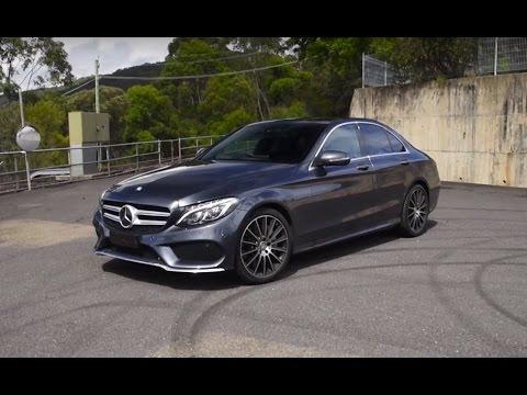 Mercedes-Benz C 250 0-100km/h & engine sound