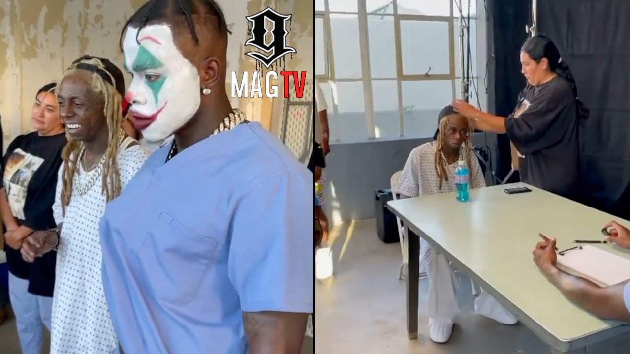 Download DaBaby & Lil Wayne BTS Footage Of Music Video Lonely! 🎥