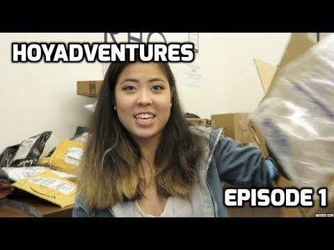 HoyAdventures Ep.1 | GEORGETOWN UNIVERSITY VLOG