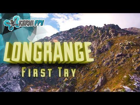 ⒻⓅⓋ Long range Drone   FIRST TRY   TBS Crossfire
