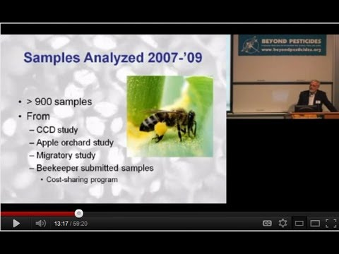 2011 Forum - Protecting Pollinators from Pesticides: Stopping the demise of honeybees