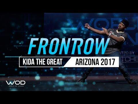 Kida The Great   FrontRow   World of Dance Arizona 2017   #WODAZ17