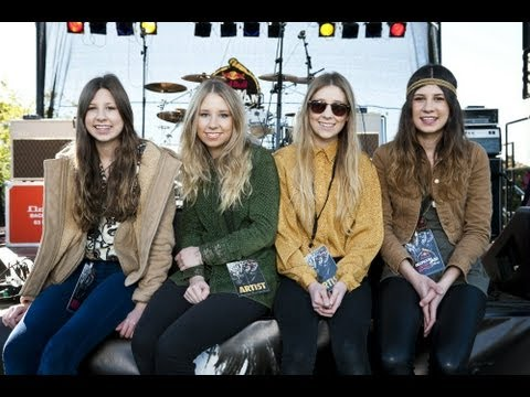 Stonefield - the Aussie, all-girl rock band