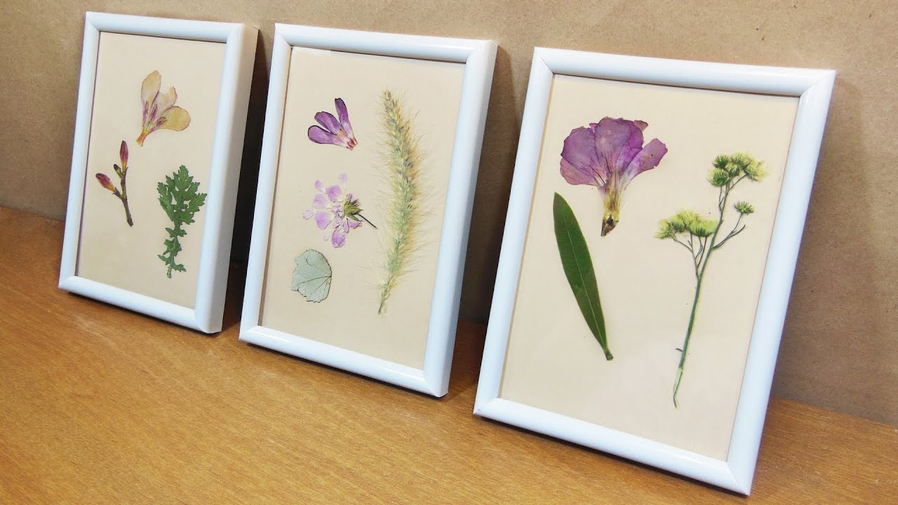 Enmarcando Flores dia de las madres - YouTube