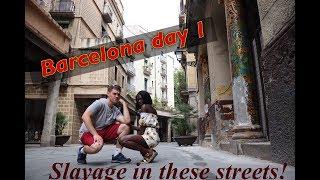First Time Foreign Together! Barcelona Day 1|ChrisEbun