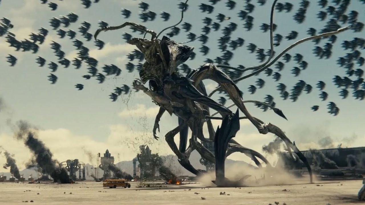 Download Killing Alien Harvester Queen Final Fight Scene (Independence Day: Resurgence)