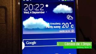 Primeras impresiones de la nueva Galaxy Note 3