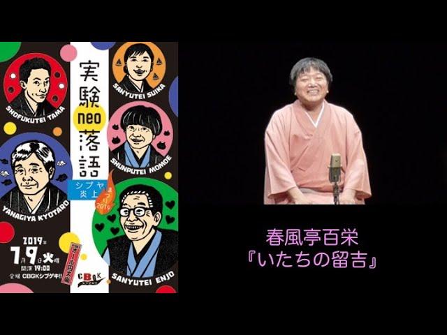 いたちの留吉 / 春風亭百栄 (作:三遊亭円丈)