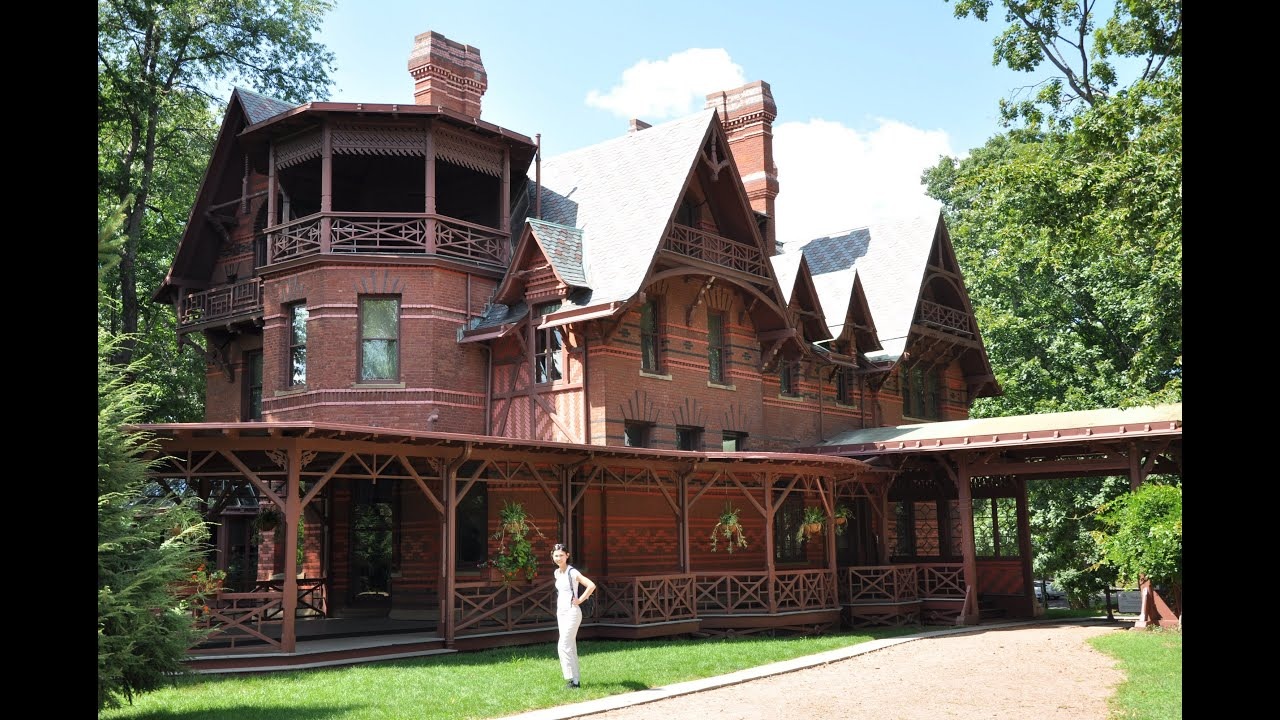 Hartford ct mark twain house museum brattleboro vt for The hartford house