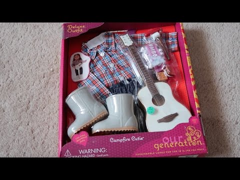 *Review* Our Generation Campfire Cutie Outfit!