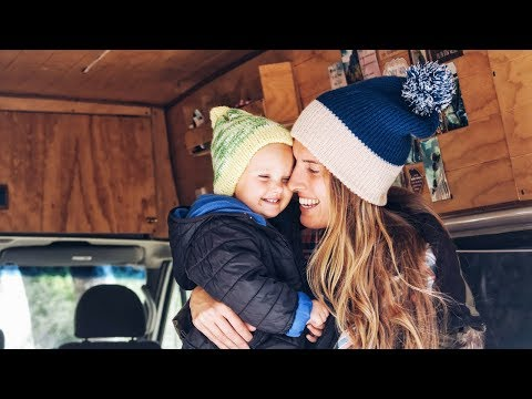 Day In The Life VLOG   1st Snow Trip Living In A Van