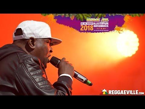 Bunny General @Reggae Jam Festival 2018