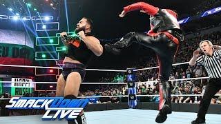 Shinsuke Nakamura attacks Rusev: SmackDown LIVE, Nov. 27, 2018