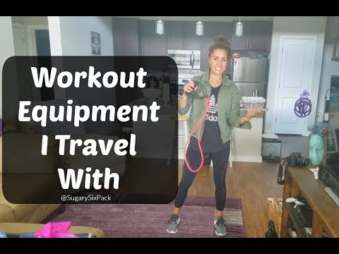 Workout Equipment I Travel With