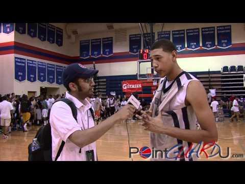 Brandon Ashley Talks to Point Guard U
